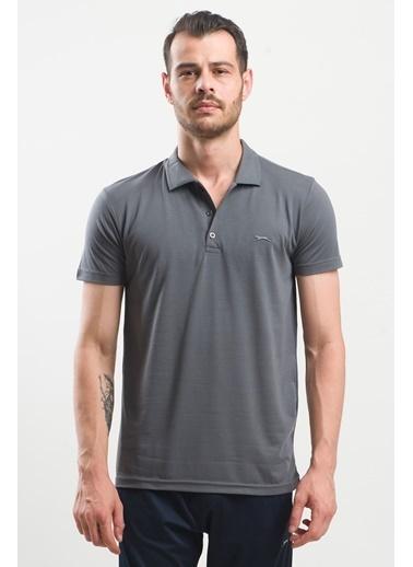Slazenger Slazenger SPIRIT Erkek T-Shirt Antrasit Antrasit